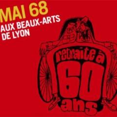 Mai 68 – Un atelier de sérigraphie aux Beaux-Arts de Lyon